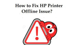 HP Printer Says offline Windows 10