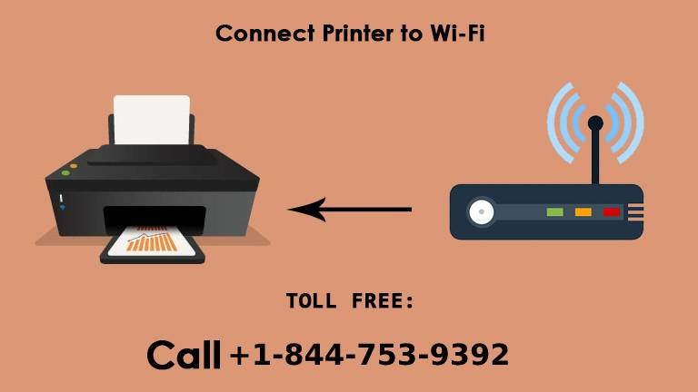 Connecting a HP OfficeJet wireless printer to a wireless network ...