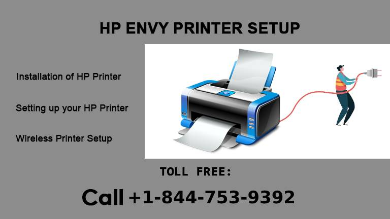 HP ENVY 7640 Printer Setup