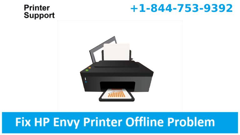 hp envy printer offline