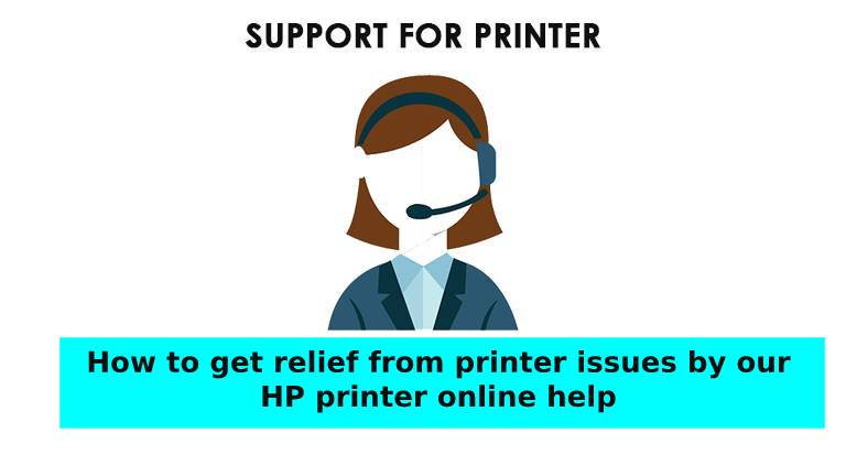 printer issues HP printer online help
