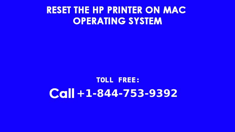 reset the HP Printer on Mac Operating System