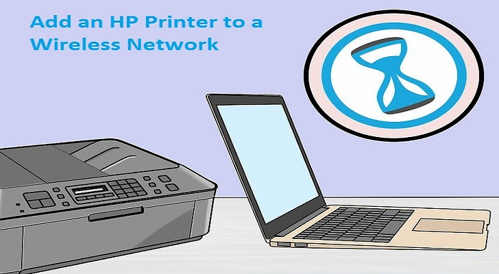 Add an hp printer to a wireless network