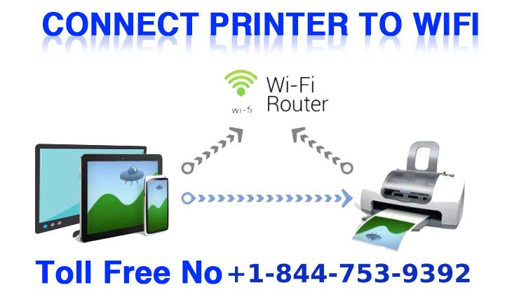 connect canon printer to WiFI