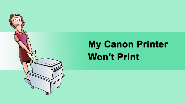 Canon Printer Won't Print