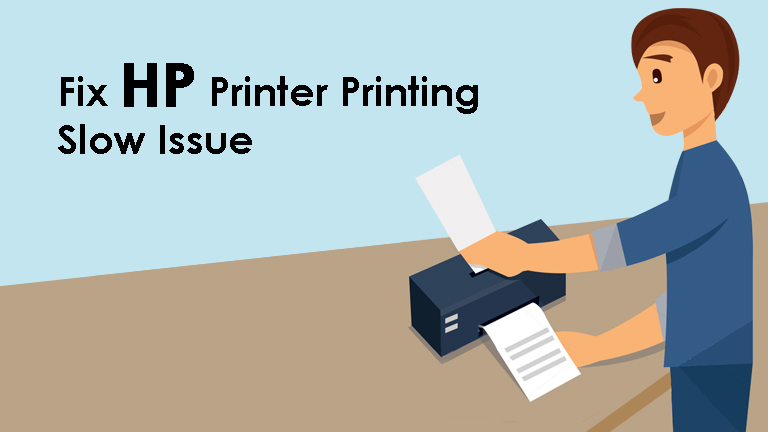 HP Printer Printing Slow