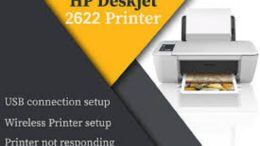 HP Deskjet 2622 Printer setup