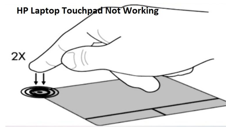 HP Laptop Touchpad Not Working