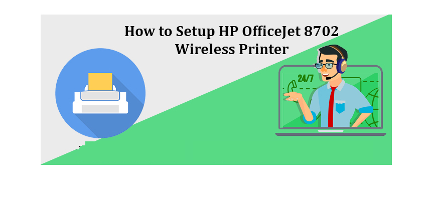 Setup HP OfficeJet 8702 Wireless Printer