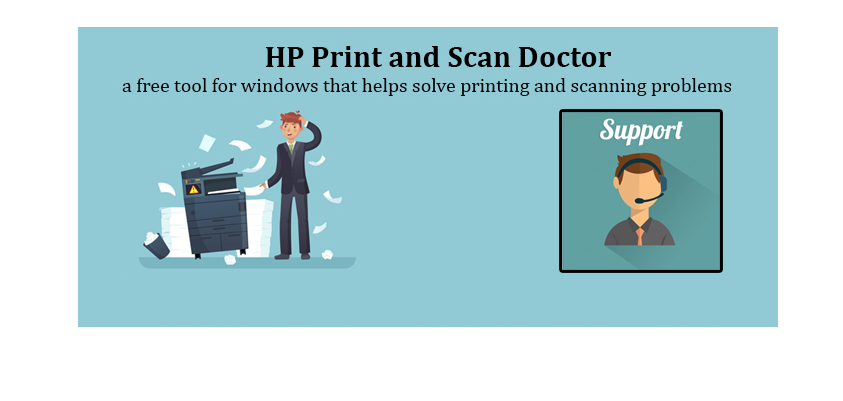 Fix HP Printer Problem HP Print And Scan Doctor