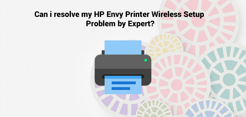 hp envy printer wireless setup
