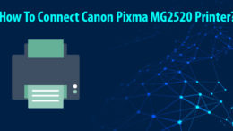 connect canon pixma mg2520 printer
