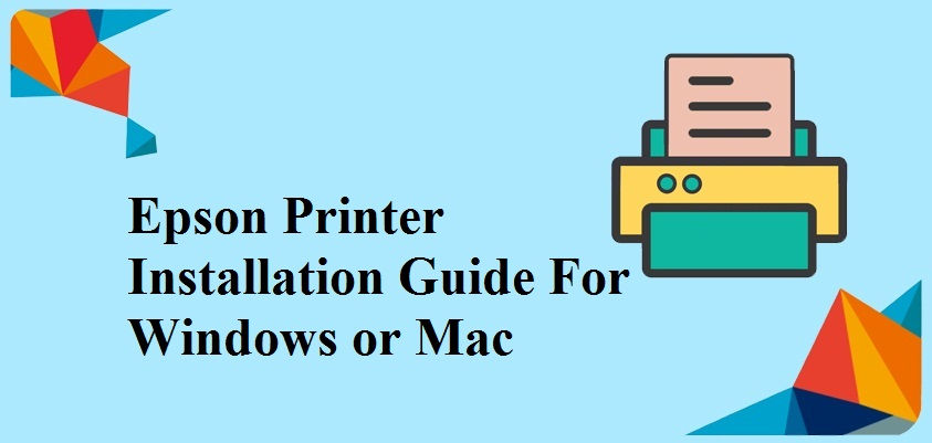 Epson Printer Installation Guide