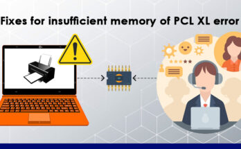 Fixes insufficient memory of PCL XL error