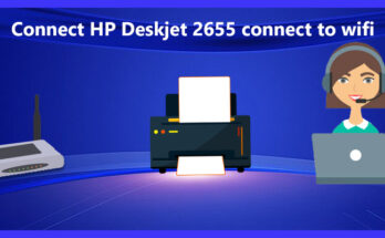 Connect HP Deskjet 2655 connect to wifi