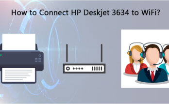 HP Deskjet 3634 to WiFi