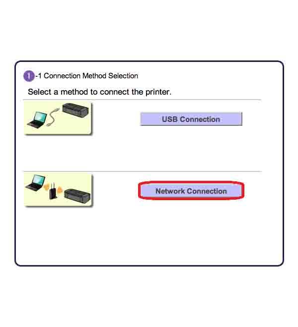 Printer driver install